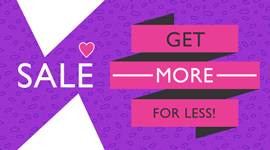 Get More For Less