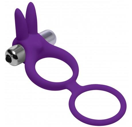 Throbbin Hopper Cock & Ball Ring with Vibrating Clit Stimulator