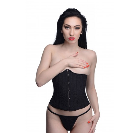 Waist Trainer Corset with Panties- Medium