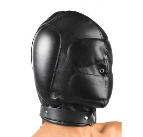 Padded Leather Hood - Medium/Large