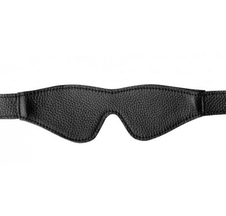 Onyx Leather Blindfold