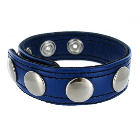 Strict Leather Blue Speed Snap Cock Ring
