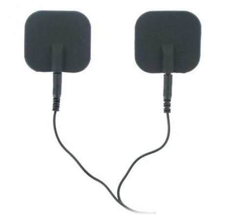 Zeus Deluxe Silicone Black Electro Pads