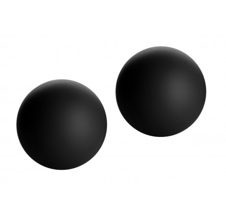 Marquis Velvety Ben Wa Balls - Black