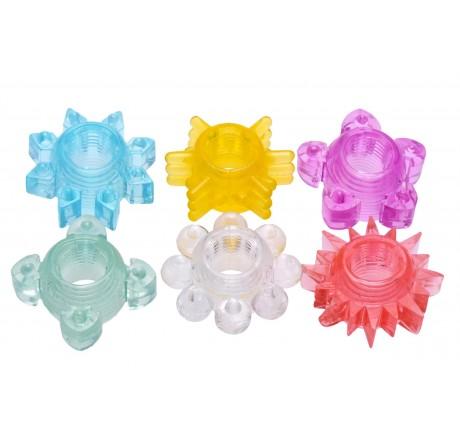 Enhance 6 Piece Cock Ring Set
