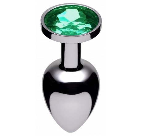 Jewel Butt Plug, Emerald