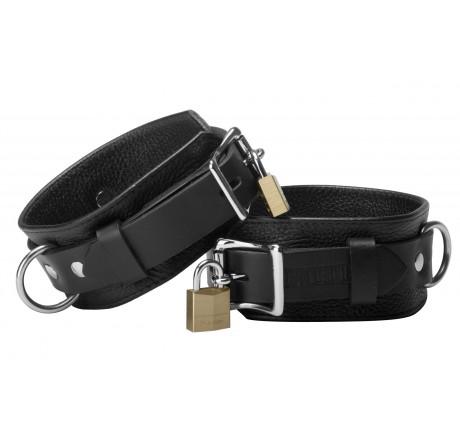 Strict Leather Deluxe Locking Wrist Cuffs