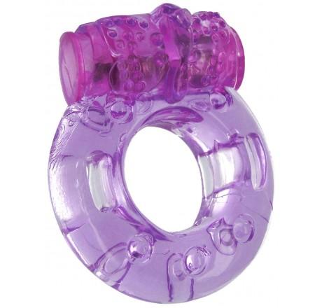 Purple Orgasmic Vibrating Cockring