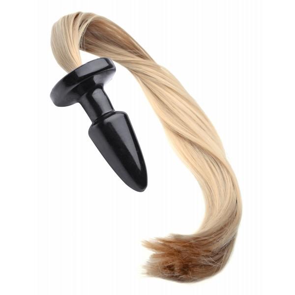 Blondie Pony Tail Butt Plug - GentleToys.com