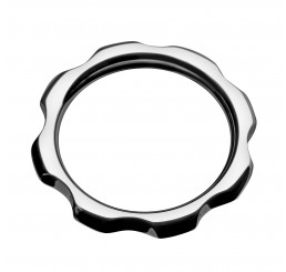 Gear Head Metal Cock Ring- 1.75 inch
