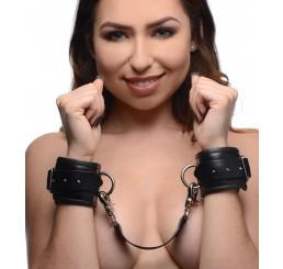 PU Leather Lined Cuffs - Wrist