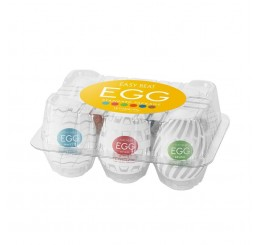 Easy Beat Egg New Standard Masturbator Six Pack
