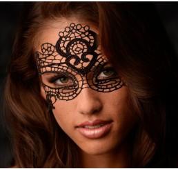 The Enchanted Black Lace Mask