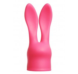 Silicone Bunny Attachment for Small Wand Massagers