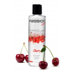 Passion Licks Cherry Water Based Flavored Lube - 8 oz
