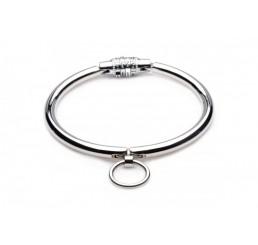 Stainless Steel Combination Lock Slave Collar