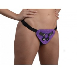 Burlesque Universal Corset Harness - Purple