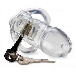 Clear Captor Chastity Cage - Small