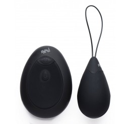 10X Silicone Vibrating Egg - Black