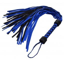 Black and Blue Suede Flogger