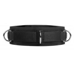 Neoprene Bondage Collar with D-Rings