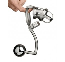 The Deluxe Extreme Chastity Cage with Accessories