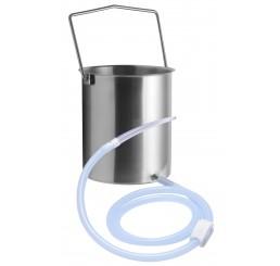 CleanStream Premium Enema Bucket Kit with Silicone Hose