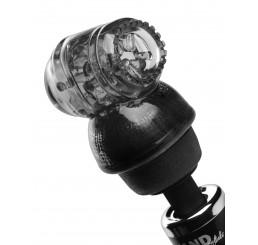 Vibra Cup Penis Head Wand Masturbation Kit