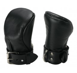 Strict Leather Deluxe Padded Fist Mitts- SM