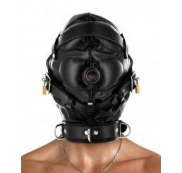 Strict Leather Sensory Deprivation Hood- SM